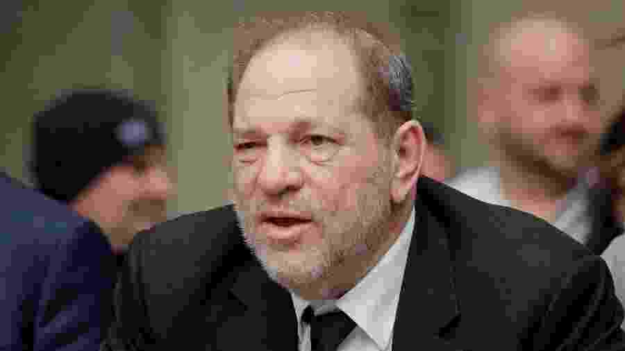 Harvey Weinstein no tribunal em Manhattan (16 de janeiro, 2020) - REUTERS/Brendan McDermid