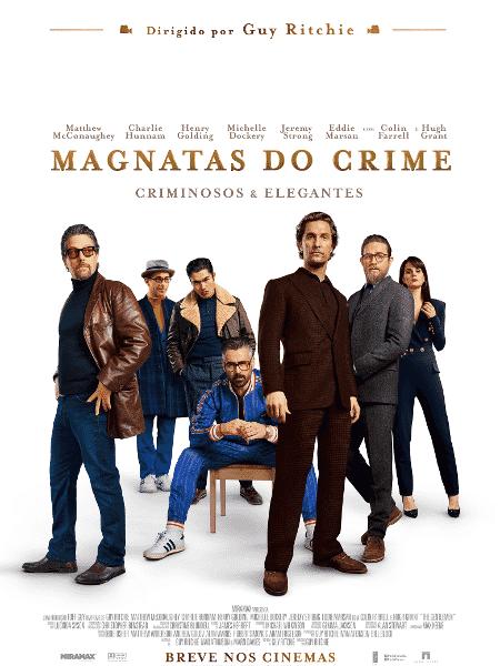"""Pôster de """"Magnatas do Crime"""", novo filme de Guy Ritchie - Divulgação"""