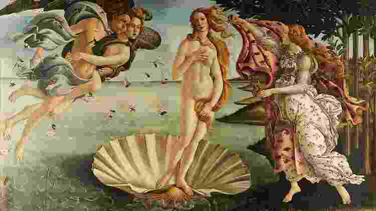 """""""O nascimento de Vênus"""", de Sandro Botticelli - Divulgação - Divulgação"""
