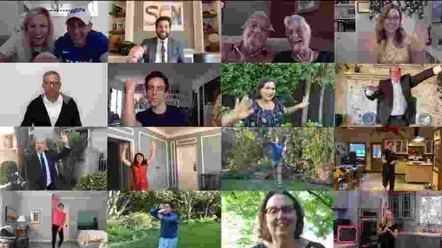 """Elenco de """"The Office"""" se reúne para recriar cena da série - REPRODUÇÃO/YOUTUBE"""