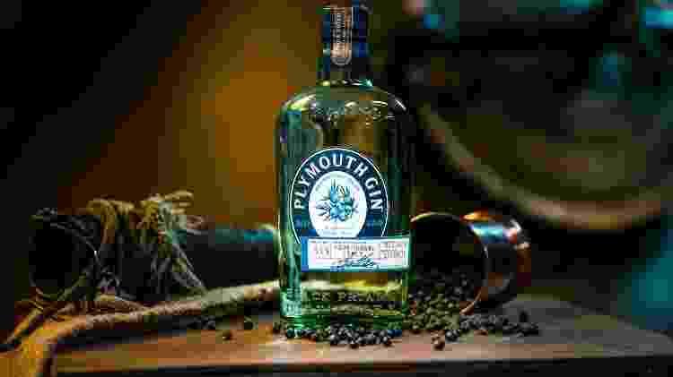 O gin único da Plymouth - Reprodução/site oficial - Reprodução/site oficial