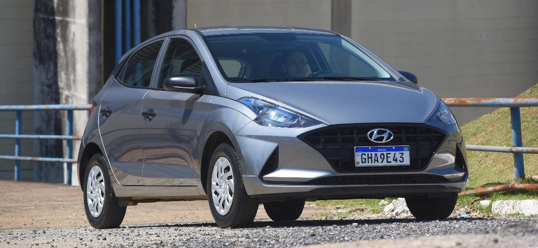 Hyundai HB20 é um dos carros mais vendidos do Brasil - Murilo Góes/UOL
