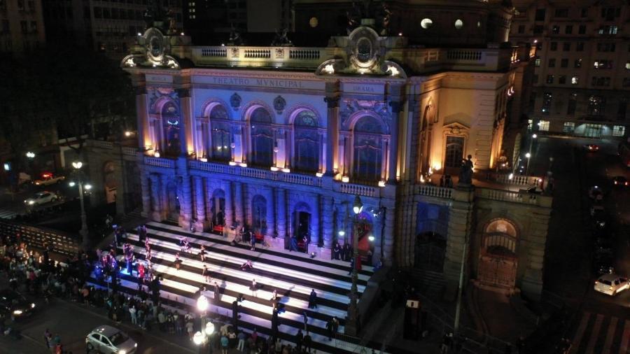 No ano passado, o Sephora Dark Side of Beauty aconteceu pela primeira vez, e no Teatro Municipal, em São Paulo - Divulgação/Sephora