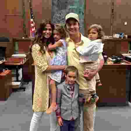 Camila Alves, Matthew McConaughey e filhos - Reprodução/Instagram - Reprodução/Instagram