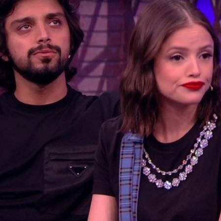 """Rodrigo Simas e Agatha Moreira no """"Lady Night"""" - Reprodução/vídeo"""