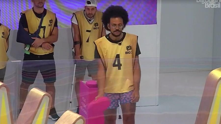 BBB 21: João na prova do líder - Reprodução/Globoplay