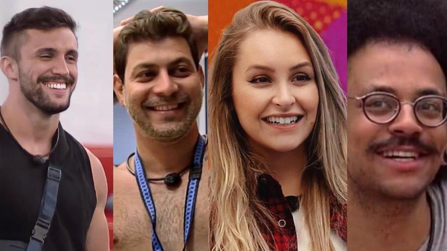 BBB 21: Arthur, Caio, Carla e João estão no paredão falso - Reprodução/Instagram