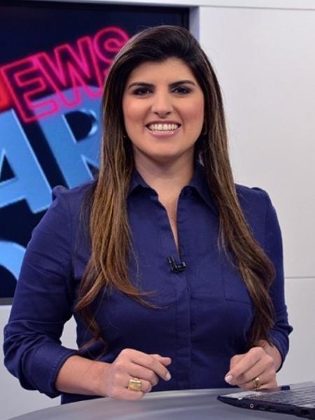A jornalista Michelle Sampaio, ex-apresentadora da TV Vanguarda - Divulgação