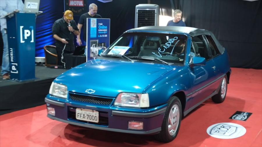 Modelo conversível ano 1993 atingiu preço considerável em leilão; contudo, carro deverá ficar atrás do Gol GTI em termo de valorização no mercado - Picelli Leilões/reprodução