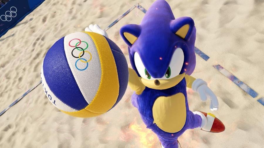 Sonic Olimpiadas Tokyo 2020 - Divulgação/Sega