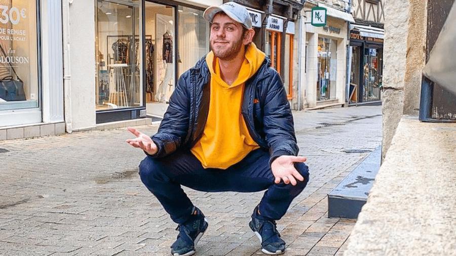 O youtuber Albert Dyrlund - Reprodução / Instagram