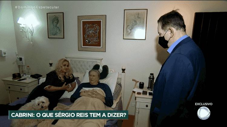 Sergio Reis - Reprodução/Record TV - Reprodução/Record TV