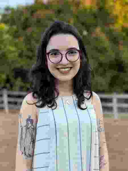Raphaela Magalhães teve um relacionamento de dois anos, mas por medo nunca viajou com a namorada - Arquivo pessoal - Arquivo pessoal