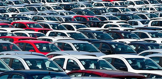 Pátio da Volkswagen em Taubaté (SP) - Lucas Lacaz Ruiz/Folhapress - 25.11.2014 - Lucas Lacaz Ruiz/Folhapress - 25.11.2014