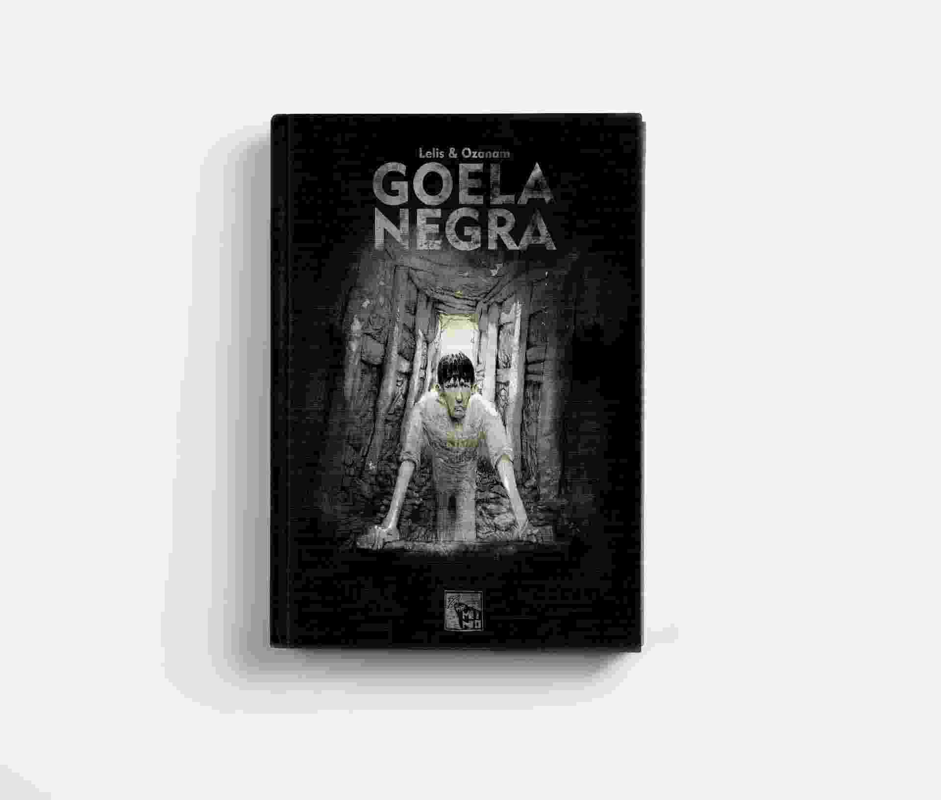 """Capa da HQ """"Goela Negra"""", de Antoine Ozanan, ilustrada pelo brasileiro Lelis - Divulgação"""