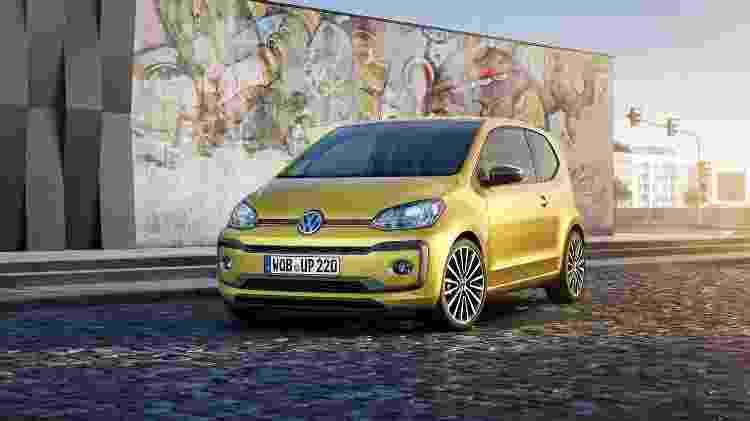 Volkswagen up! 2016 Europa - Divulgação - Divulgação
