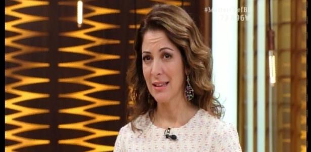 """Ana Paula Padrão, apresentadora do """"MasterChef"""" - Reprodução/Band"""