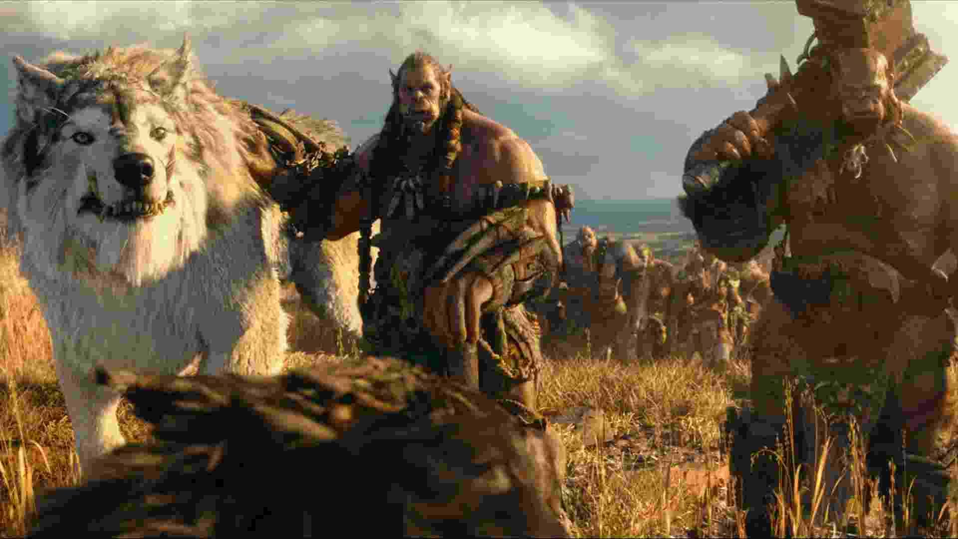 """Cena do filme """"Warcraft - O Primeiro Encontro de Dois Mundos"""" - Divulgação"""