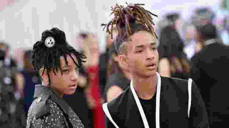 Willow e Jaden Smith são algumas das celebridades que ajudam a popularizar o afropunk - Getty Images - Getty Images