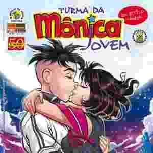 Capa da edição número 34 quando Mônica e Cebolinha começaram a namorar - Reprodução