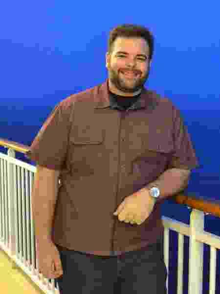 Para Rodrigo, o preconceito com homens gordos é menor, mas existe - Arquivo pessoal - Arquivo pessoal