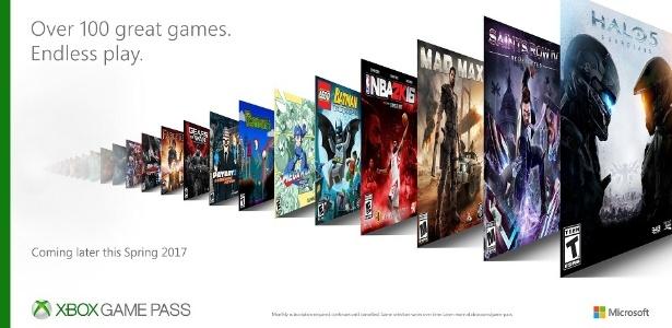 """Por cerca de R$ 31 ao mês, Xbox Game Pass oferecerá jogos como """"Halo 5"""" e """"Gears of War"""" sem custo adicional para os assinantes"""