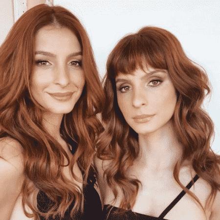 """Michelle e Giselle Batista estão atuando juntas em """"O Rico e Lázaro"""" - Reprodução/Instagram mixabatista"""