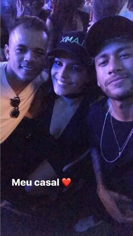 Jo Amancio, Emilly e Neymar - Reprodução/Instagram/neymarjr