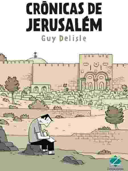 """Capa do aclamado """"Crônicas de Jerusalém"""" - Divulgação - Divulgação"""