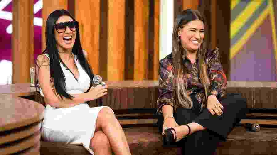 """Simone e Simaria no """"Conversa com Bial""""; dupla será jurada do The Voice Kids - Ramón Vasconcelos/Divulgação/TV Globo"""
