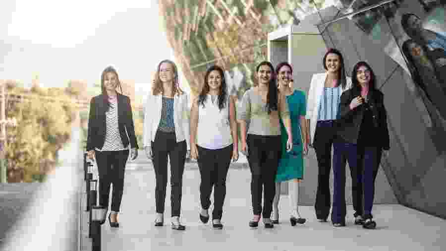 """As pesquisadoras vencedoras do prêmio """"Para Mulheres na Ciência 2017"""" - Divulgação"""