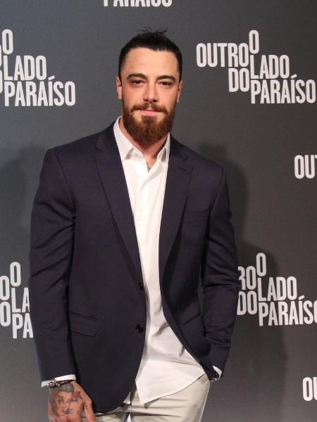"""Felipe Titto no lançamento da novela """"O Outro Lado do Paraíso"""" - AgNews"""