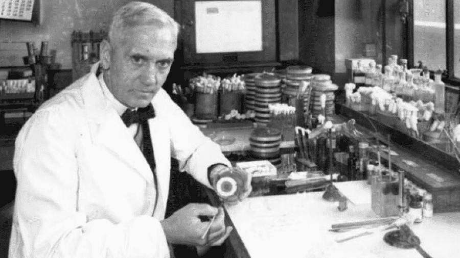 Alexander Fleming foi responsável pela descoberta da penicilina, que revolucionou a medicina - GETTY IMAGES