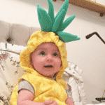Carolina, filha de Vitoria Frate e Pedro Neschling - Reprodução/Instagram