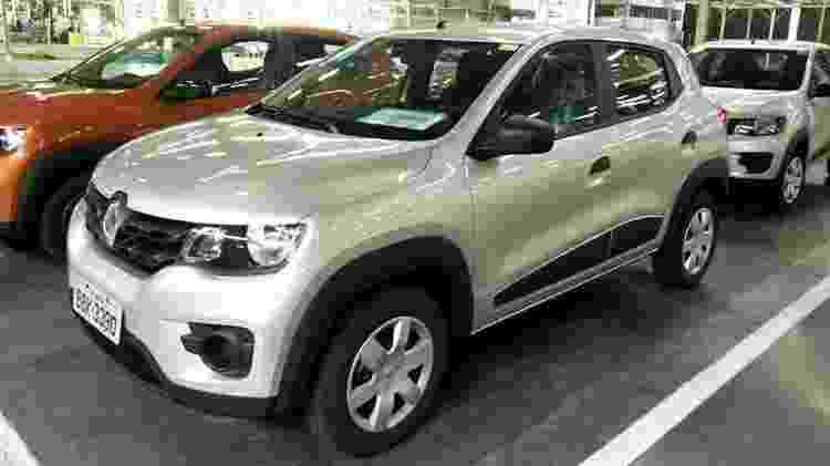 Produção em massa de Kwid (foto) e Captur fizeram Renault ampliar produção no Paraná para três turnos - Divulgação