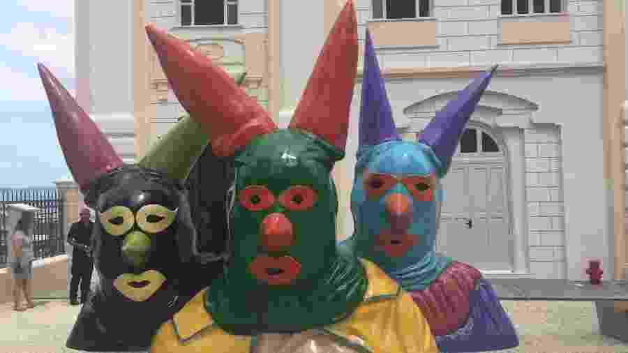 Fachada da Casa do Carnaval da Bahia no Centro Histórico de Salvador - Adriana de Barros/UOL