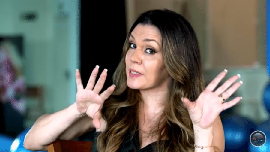 Simony é entrevistada por Antonia Fontenelle - Reprodução/YouTubefam