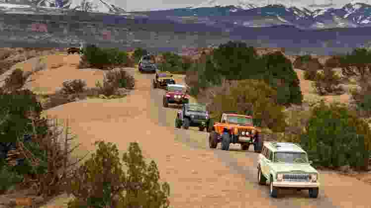 Protótipos da Jeep são levados ao extremo no off-road do Easter Jeep Safari 2018 - Divulgação/FCA - Divulgação/FCA