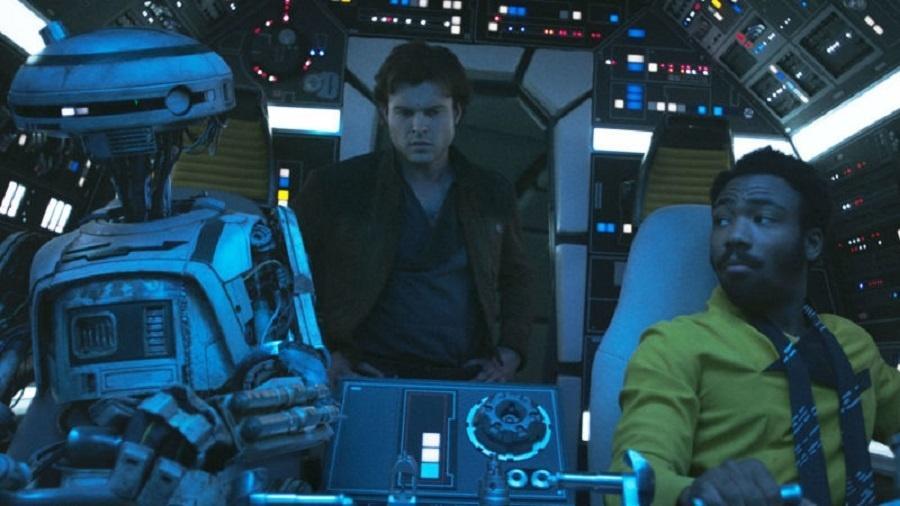 """Cena do novo """"Han Solo"""" - Reprodução"""