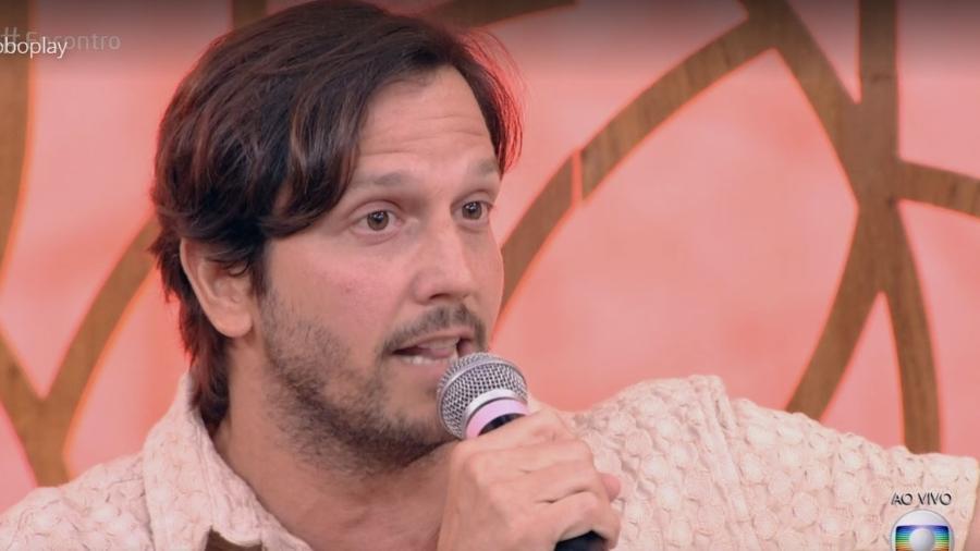 """Vladimir Brichta no """"Encontro"""" - Reprodução/Globo"""