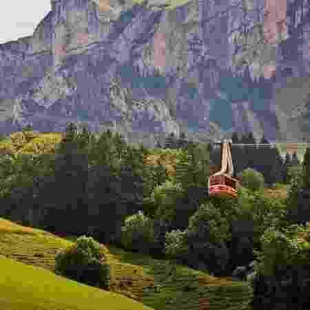 Teleférico suiço - BBC