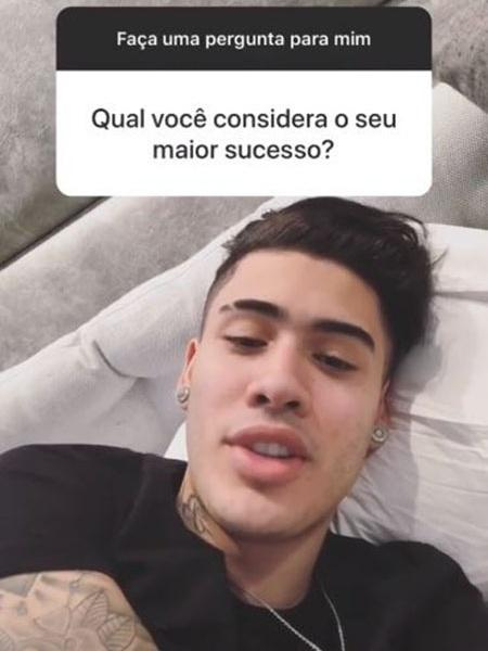 Kevinho responde fãs via Instagram Stories - Reprodução/Instagram