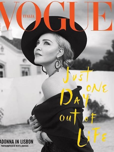 Madonna para Vogue Itália - Reprodução/Instagram