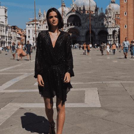 Bruna Marquezine na Itália - Reprodução/Instagram/brumarquezine