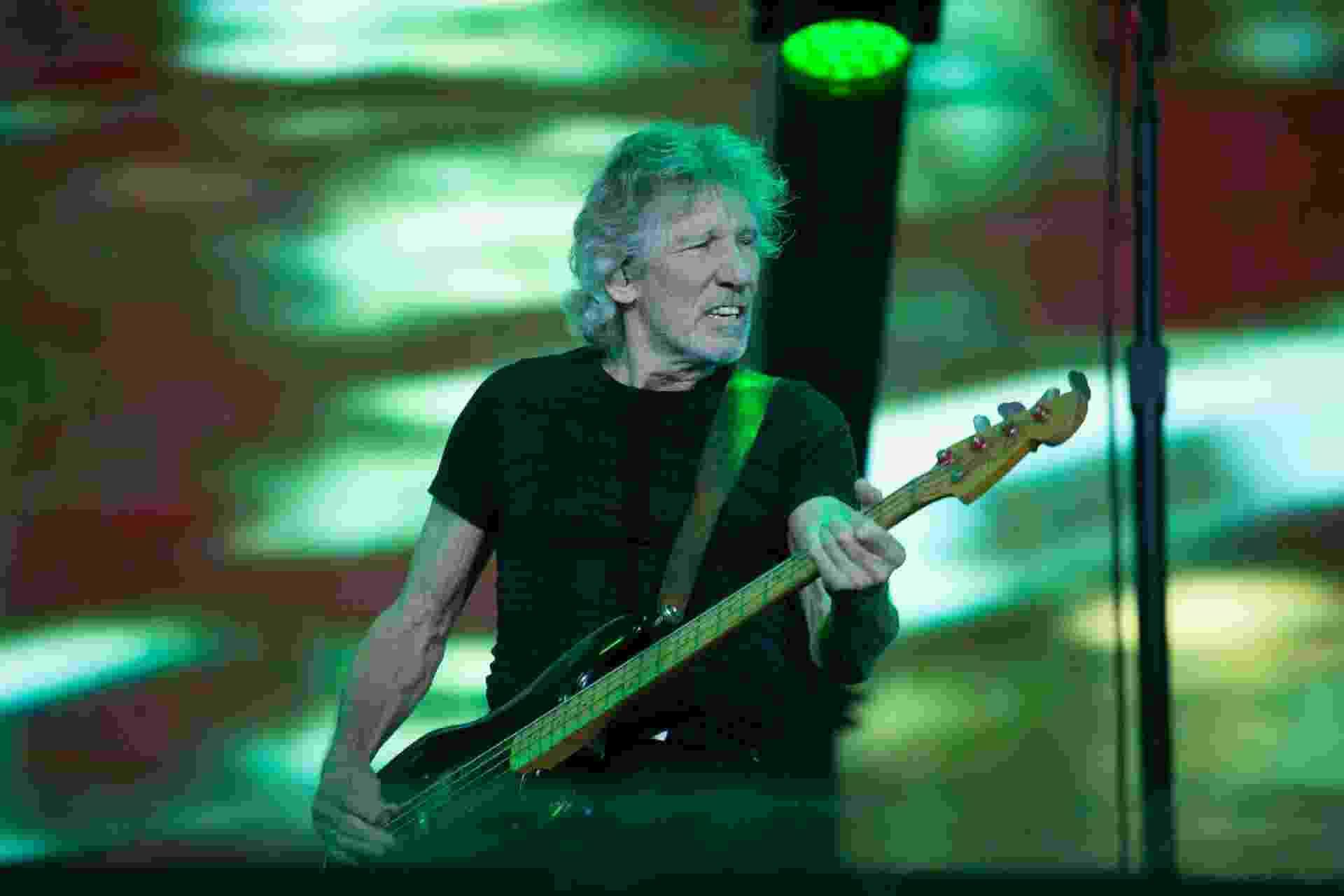 Roger Waters faz sua apresentação final na turnê brasileira, em Porto Alegre - Leo Caobelli/UOL