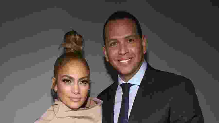 Segundo fonte próxima ao casal, o casamento de Jennifer Lopez e Alex Rodríguez na Itália já estava pago e marcado - Getty Images