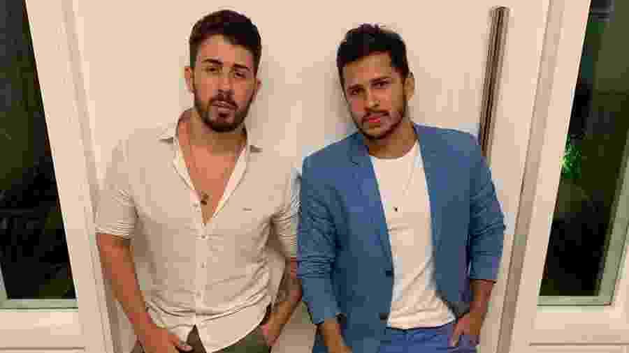 Carlinhos Maia e Lucas Guimarães - Instagram/Reprodução