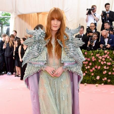 A cantora Florence Welch - Jamie McCarthy/Getty Images