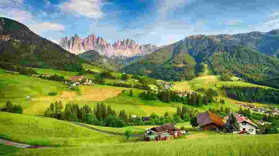 Dolomitas, localizadas no norte da Itália - iStock