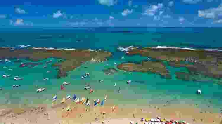 Vista aérea de Porto de Galinhas - Vinícius Lubambo/Divulgação - Vinícius Lubambo/Divulgação